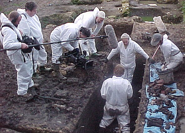 Channel 4's Time Team Visits Ely