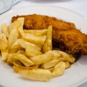 fish and chip supper