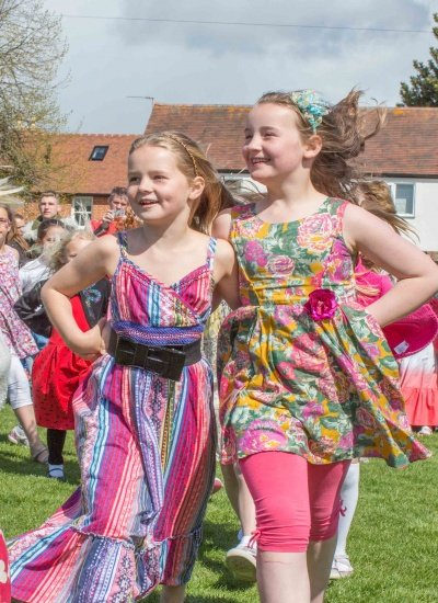Haddenham Maypole Dancing