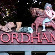 Fordham Village Sign