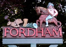 Fordham Village Sign