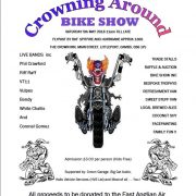 crowning around bike show